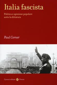 Ipabsantonioabatetrino.it Italia fascista. Politica e opinione popolare sotto la dittatura Image