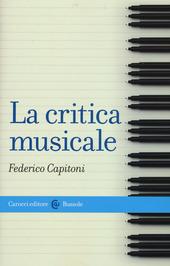 La critica musicale