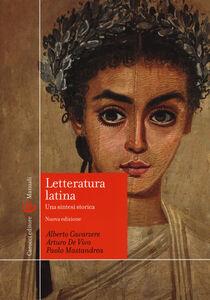 Foto Cover di Letteratura latina. Una sintesi storica, Libro di AA.VV edito da Carocci