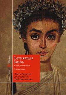Steamcon.it Letteratura latina. Una sintesi storica Image