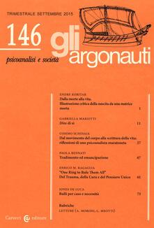 Secchiarapita.it Gli argonauti (2015). Vol. 146 Image