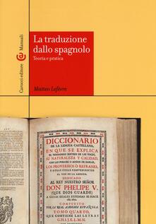 Birrafraitrulli.it La traduzione dallo spagnolo. Teoria e pratica Image