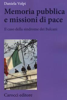 Voluntariadobaleares2014.es Memoria pubblica e missioni di pace. Il caso della sindrome dei Balcani Image