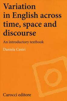 Fondazionesergioperlamusica.it Variation in english across time, space and discourse. An introductory textbook Image