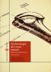 Archeologia dei resti umani. Dallo scavo al laboratorio