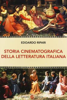 Lpgcsostenible.es Storia cinematografica della letteratura italiana Image
