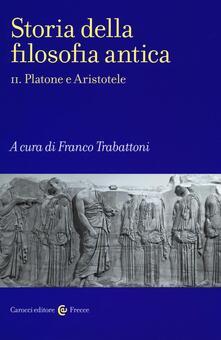 Lpgcsostenible.es Storia della filosofia antica. Vol. 2: Platone e Aristotele. Image
