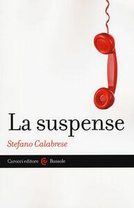 Libro La suspense Stefano Calabrese