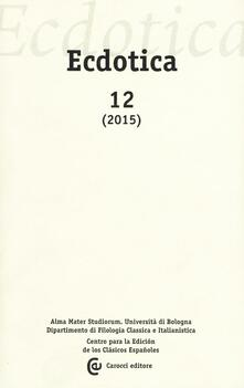 Tegliowinterrun.it Ecdotica. Vol. 12 Image