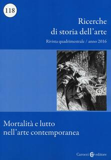 Daddyswing.es Ricerche di storia dell'arte. Vol. 118: Mortalità e lutto nell'arte contemporanea. Image