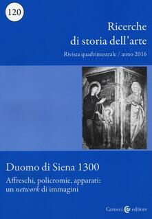 Voluntariadobaleares2014.es Ricerche di storia dell'arte (2016). Vol. 120: Duomo di Siena 1300- Affreschi, policromie, apparati: un «network» di immagini. Image