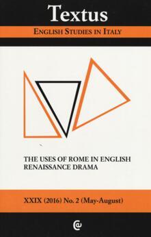 Listadelpopolo.it Textus. English studies in Italy (2016). Vol. 2 Image