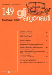 Promoartpalermo.it Gli argonauti (2016). Vol. 149 Image