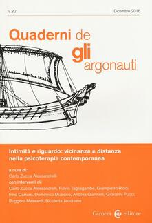 Radiospeed.it Quaderni de «Gli argonauti» (2016). Vol. 32 Image