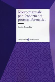 Mercatinidinataletorino.it Nuovo manuale per l'esperto dei processi formativi Image