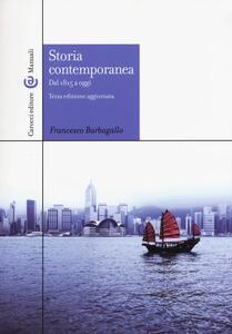 Storia contemporanea dal 1815 a oggi
