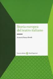 Storia europea del teatro italiano