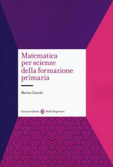 Fondazionesergioperlamusica.it Matematica per scienze della formazione primaria Image
