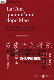 Librisulladiversita.it La Cina quarant'anni dopo Mao. Scelte, sviluppi e orientamenti della politica di Xi Jinping Image