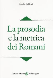 Amatigota.it La prosodia e la metrica dei romani Image