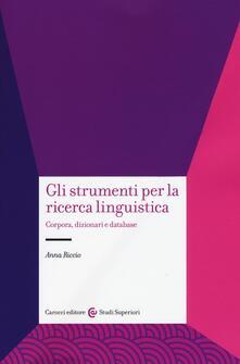 Ilmeglio-delweb.it Gli strumenti per la ricerca linguistica. Corpora, dizionari e database Image