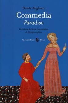 Commedia. Paradiso - Dante Alighieri - copertina