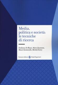 Voluntariadobaleares2014.es Media, politica e società: le tecniche di ricerca Image
