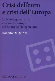 Radiospeed.it Crisi dell'euro e dell'Europa. La nuova governance economica europea e il futuro dell'integrazione Image