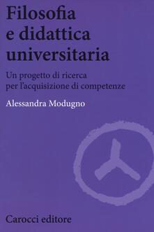 Promoartpalermo.it Filosofia e didattica universitaria. Un progetto di ricerca per l'acquisizione di competenze Image