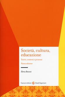 Capturtokyoedition.it Società, cultura, educazione. Teorie, contesti e processi Image