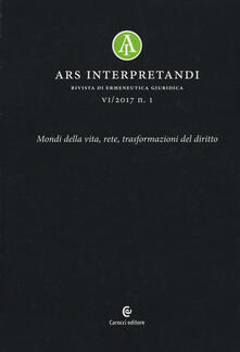 Filmarelalterita.it Ars interpretandi (2017). Vol. 1 Image