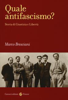 Antondemarirreguera.es Quale antifascismo? Storia di Giustizia e Libertà Image