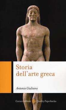 Radiospeed.it Storia dell'arte greca Image