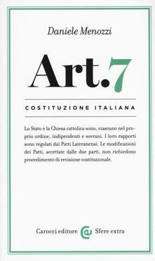 Camfeed.it Costituzione italiana: articolo 7 Image