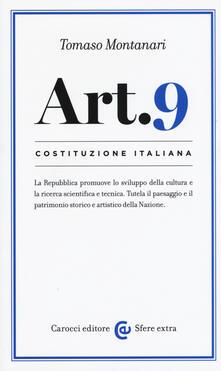 Camfeed.it Costituzione italiana: articolo 9 Image