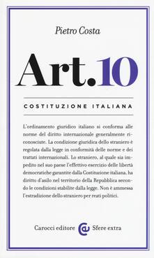 Criticalwinenotav.it Costituzione italiana: articolo 10 Image