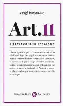 Rallydeicolliscaligeri.it Costituzione italiana: articolo 11 Image