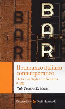 Radiospeed.it Il romanzo italiano contemporaneo. Dalla fine degli anni Settanta a oggi Image