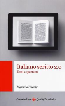 Ristorantezintonio.it Italiano scritto 2.0. Testi e ipertesti Image