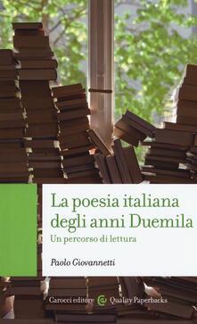 Squillogame.it La poesia italiana degli anni Duemila. Un percorso di lettura Image