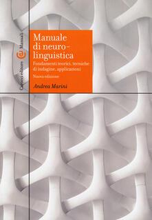 Manuale di neurolinguistica. Fondamenti teorici, tecniche di indagine, applicazioni.pdf