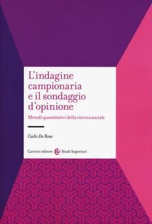 Fondazionesergioperlamusica.it L' indagine campionaria e il sondaggio d'opinione. Metodi quantitativi della ricerca sociale Image