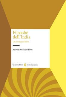 Antondemarirreguera.es Filosofie dell'India. Un'antologia di testi Image