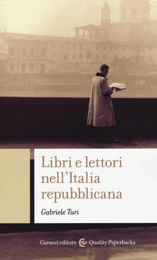 Voluntariadobaleares2014.es Libri e lettori nell'Italia repubblicana Image