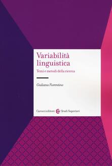 Voluntariadobaleares2014.es Variabilità linguistica. Temi e metodi della ricerca Image