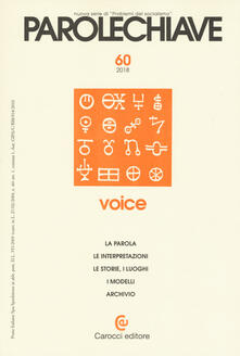 Vitalitart.it Parolechiave (2018). Vol. 2: Voice. Image