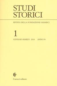 Libro Studi storici (2018). Vol.  1