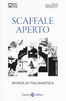 Ristorantezintonio.it Scaffale aperto. Rivista di italianistica (2018) Image