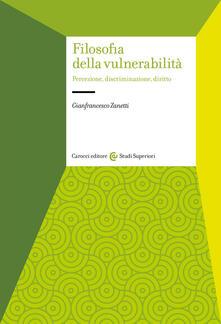 Vitalitart.it Filosofia della vulnerabilità. Percezione, discriminazione, diritto Image