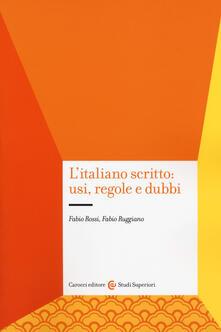 Filippodegasperi.it L' italiano scritto: usi, regole e dubbi Image